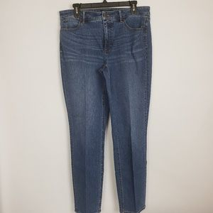 Talbots flawless 5 pocket slim ankle size 12L